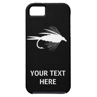 Señuelo de la pesca con mosca a personalizar iPhone 5 carcasa