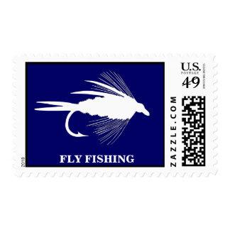Señuelo de la pesca con mosca a personalizar sellos