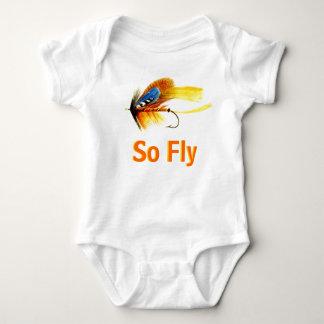 Señuelo de la pesca con mosca - tan mosca polera