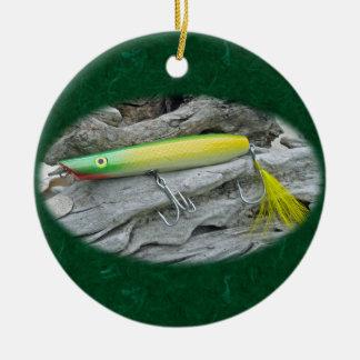 Señuelo de la pesca del agua salada del novicio v adorno de navidad