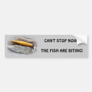 Señuelo de la pesca del agua salada del vintage de etiqueta de parachoque