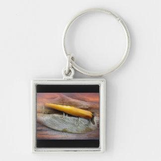 Señuelo de la pesca del agua salada del vintage de llaveros