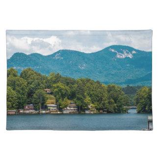 Señuelo del lago en Carolina del Norte Manteles