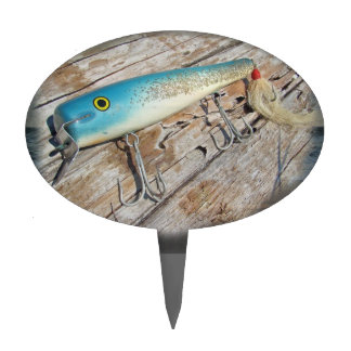 Señuelo del vintage del agua salada de Streamliner Palillos De Tarta