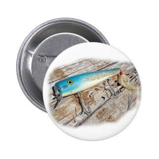 Señuelo del vintage del agua salada de Streamliner Pin Redondo 5 Cm