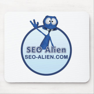 SEO Alien Mouse Pad