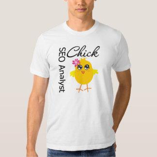 SEO Analyst Chick T Shirts