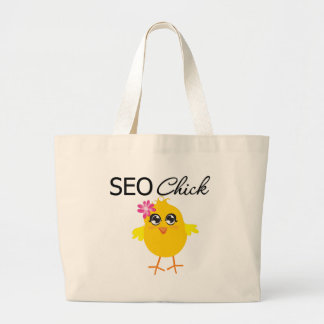 SEO Chick Large Tote Bag