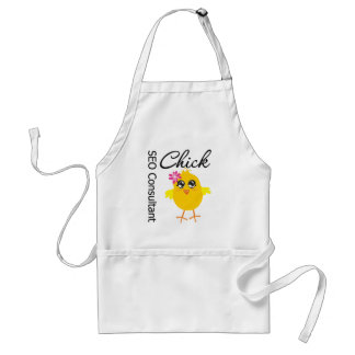 SEO Consultant Chick Adult Apron