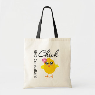 SEO Consultant Chick Canvas Bag