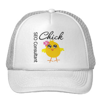 SEO Consultant Chick Trucker Hat