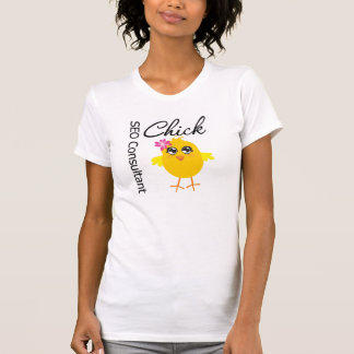 SEO Consultant Chick Tee Shirt