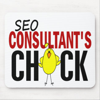 SEO Consultant s Chick Mouse Pad