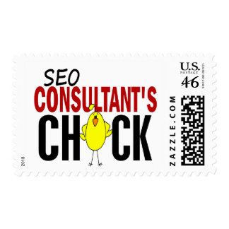 SEO Consultant s Chick Postage Stamp
