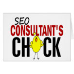 SEO Consultant's Chick Cards