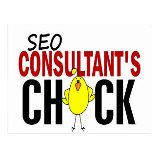 SEO Consultant's Chick Post Cards