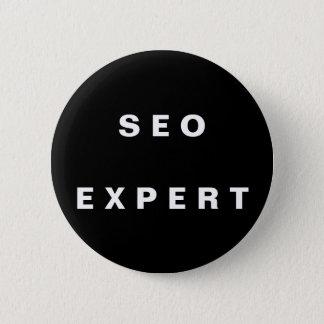 SEO Expert Pinback Button