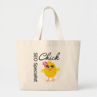 SEO Specialist Chick Canvas Bag