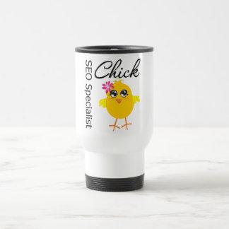 SEO Specialist Chick Mug