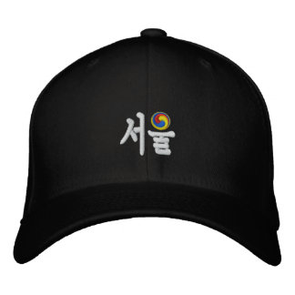 Seoul (서울) for Sale Embroidered Baseball Hat