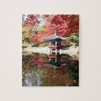Seoul Autumn colours jigsaw puzzle