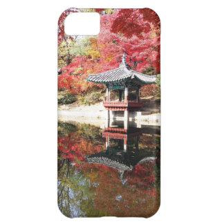 Seoul Autumn Japanese Garden iPhone 5C Cover
