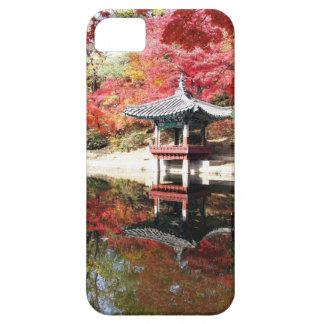 Seoul Autumn Japanese Garden iPhone SE/5/5s Case