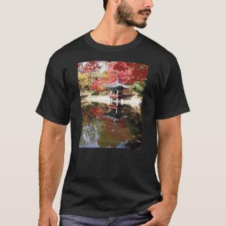 Seoul Autumn Japanese Garden T-Shirt