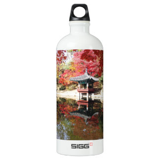 Seoul Autumn Japanese Garden Water Bottle