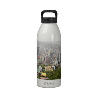 Seoul From Above Drinking Bottle
