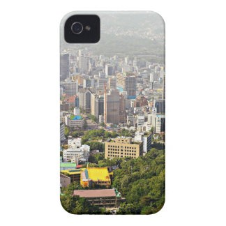 Seoul From Above iPhone 4 Cover