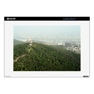 Seoul From Above Photo Decals For Laptops