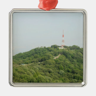 Seoul From Above Photography Metal Ornament