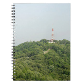 Seoul From Above Photography Spiral Notebook