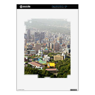 Seoul From Above Skins For The iPad 2