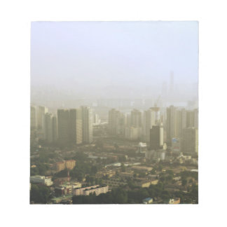 Seoul From Above Urban Photo Design Notepad