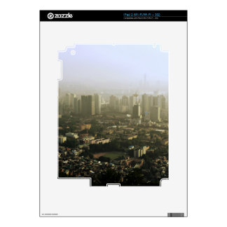 Seoul From Above Urban Photo Skins For iPad 2