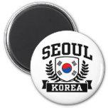 Seoul Korea Refrigerator Magnet