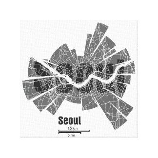 Seoul Map Canvas