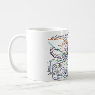 Seoul Metro Map Mug