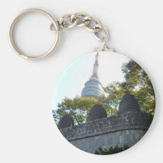 Seoul Namsan Tower through the Beacons Keychain