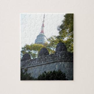 Seoul Namsan Tower through the Beacons Puzzle