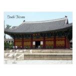 seoul palace greetings postcard