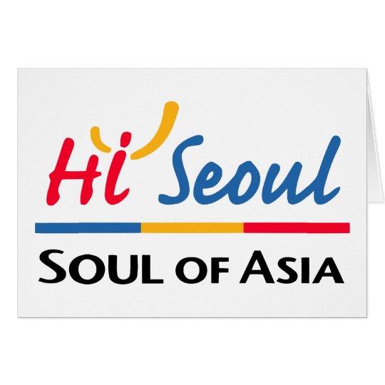 Seoul Soul Of Asia Card
