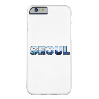 Seoul South Korea 007 Barely There iPhone 6 Case