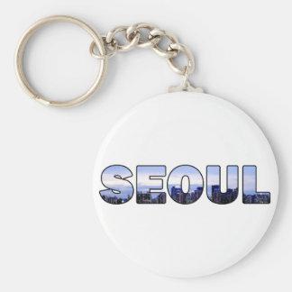 Seoul South Korea 009 Keychain