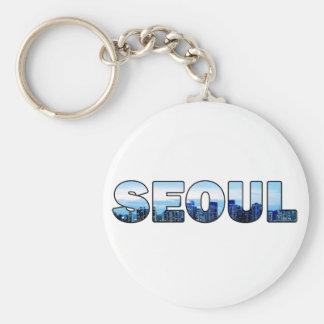 Seoul South Korea 010 Keychain