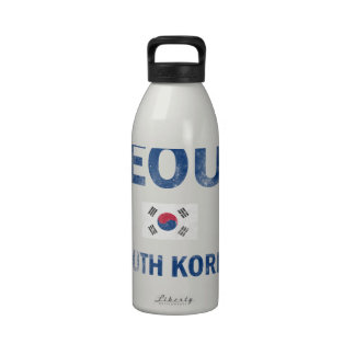Seoul South Korea Designs Drinking Bottle