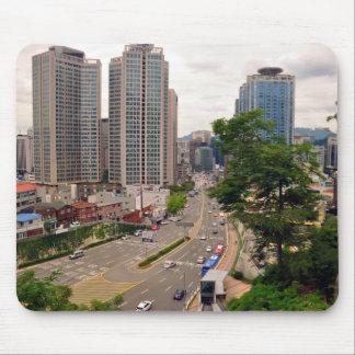 Seoul, South Korea Mousepad Mousepad