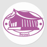 Seoul Stamp Sticker